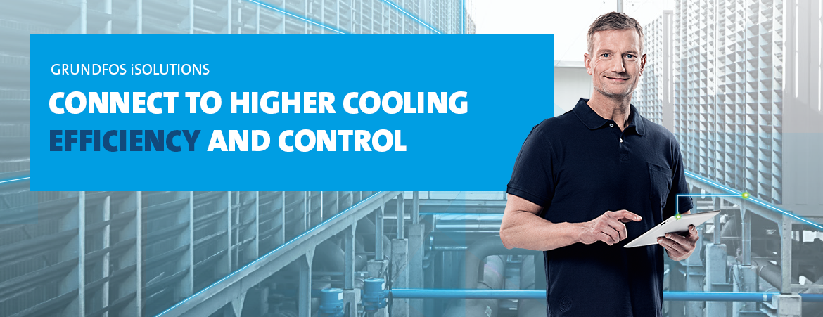 Connect to higher cooling efficiency and control